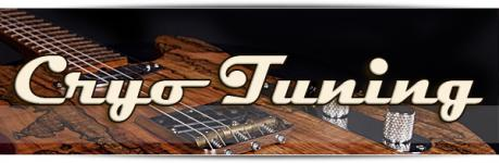 Cryo Tuned Guitar Parts