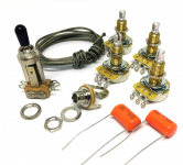 Premium Wiring Kit Elektronik Set für Gibson® Les Paul®