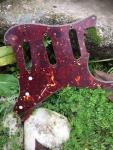 Aged Schlagbrett 64 SC Celluloid Tortoise Shell passend für Strat ®