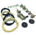 Jazzmaster Elektronik Wiring Set mit Bracket