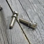 Inch Stahl Bolzen Vintage Nickel Relic ® ver.2 (2) – True Historic Parts