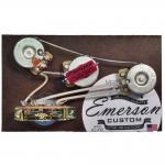 Emerson Custom - Vormontiertes Set S5 - 5 Way - Blender Potentiometer - 250k - fits to Strat®