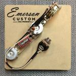 Emerson Custom - Vormontiertes Set ES - 3 Way - Reverse Control layout - 500k - fits to Esquire®