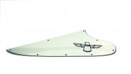 T Bird Schlagbrett Parchment Pergamentfarben 3 Ply Neu Schwarzes Logo passend für Thunderbird ®