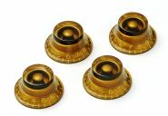 Montreux Top Hat Poti Knopf Set Gold (4) ver.2 – True Historic Parts