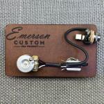 Emerson Custom  Prewired Kit Cabronita Tele  500k