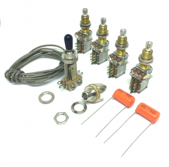 Premium Jimmy Page Wiring Kit  For Les Paul®