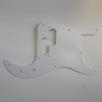 USA PB Weiss 1PLY 2mm Schlagbrett passend für Precision Bass®