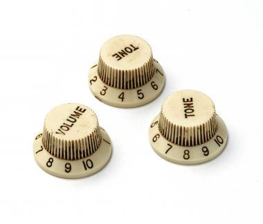 Aged 72 SC Relic ® Knopf Set – passend für Strat ®