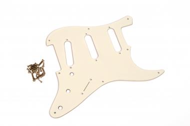USA SC 57 AGED WHITE 1PLY 1.6mm fits to Strat®