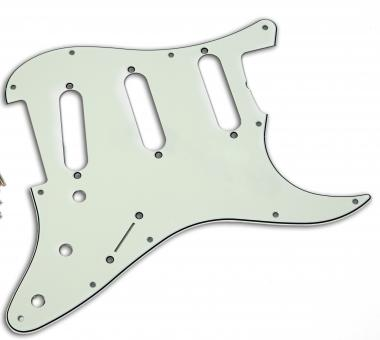 USA SC 62 AGED WHITE 3PLY fits to Strat®