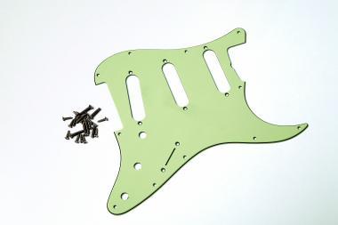 USA SC 62 MINT Green 3PLY Schlagbrett passend für Strat®