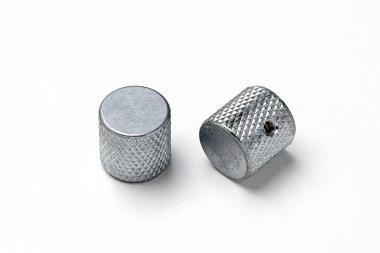 Aged TL Barrel Poti Knopf Set Chrome (2) Relic ® – passend für Tele ®