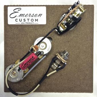 Emerson Custom - Vormontiertes Set T3 - 3 Way - Thinline - 250k - fits to Tele®