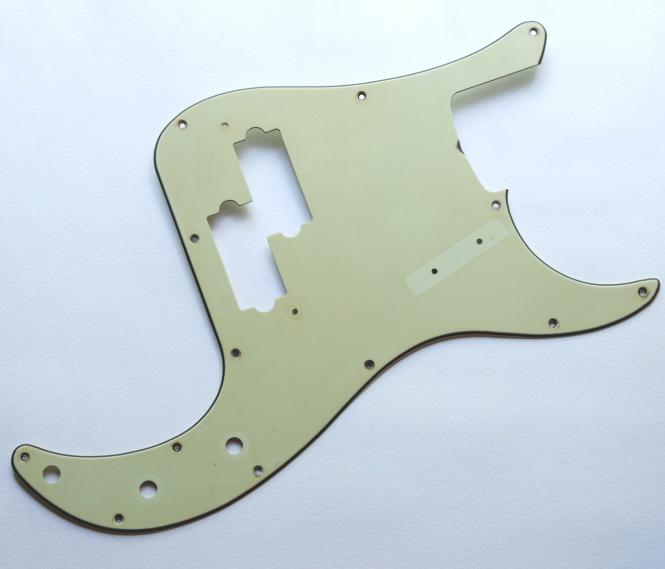 Aged Precision Bass Schlagbrett PB Mint Green passend für Precision Bass ®