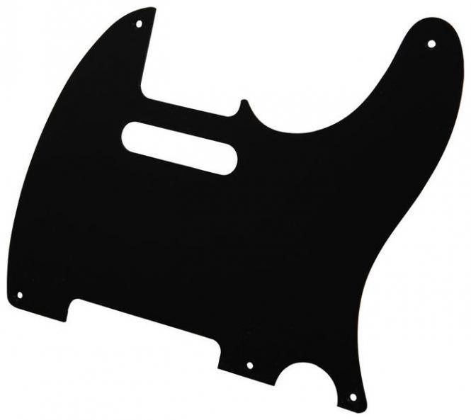 USA TL Schwarz 1PLY 1.6mm Schlagbrett passend für Tele®