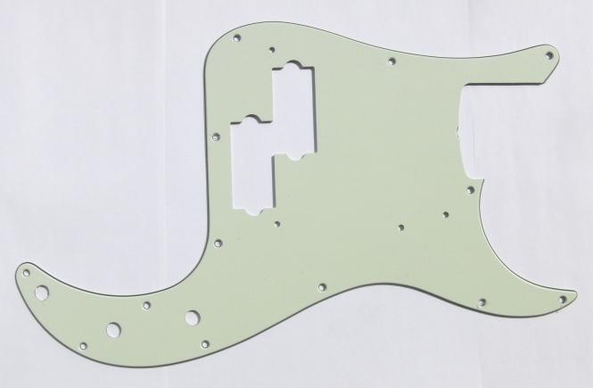 USA PB MINT Green 3PLY Schlagbrett passend für Precision Bass®