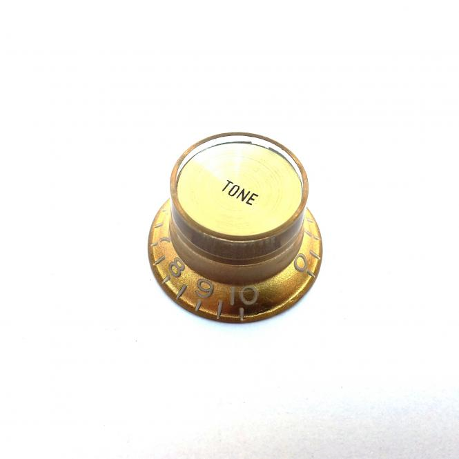 Inch Reflector Poti Knopf Tone Gold (G top)