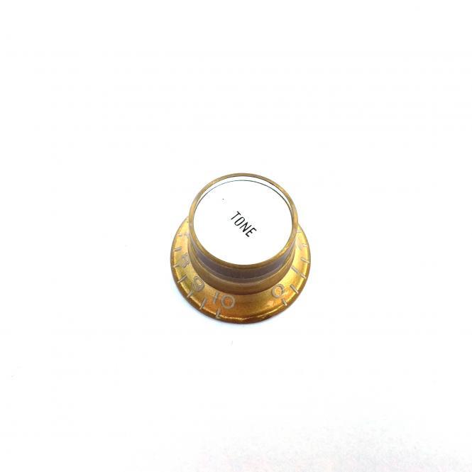 Inch Reflector Poti Knopf Tone Gold (S top)