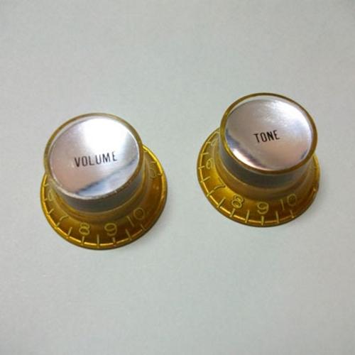 Vintage Tint Reflector Poti Knopf Gold 1V1T