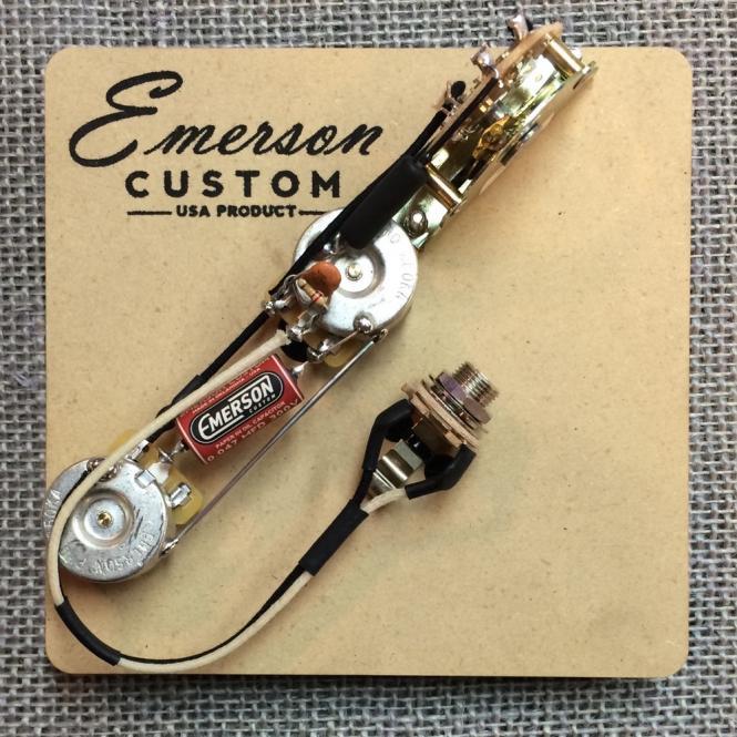 Emerson Custom - Vormontiertes Set ES - 3 Way - Standard - 500k - fits to Esquire®