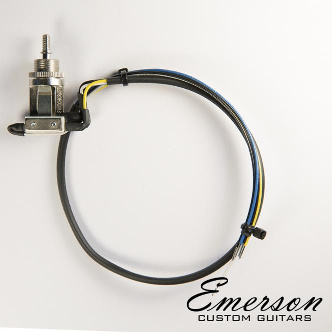 guitarslinger products emerson custom prewired toggle switch 3 way rh guitarslingerproducts com