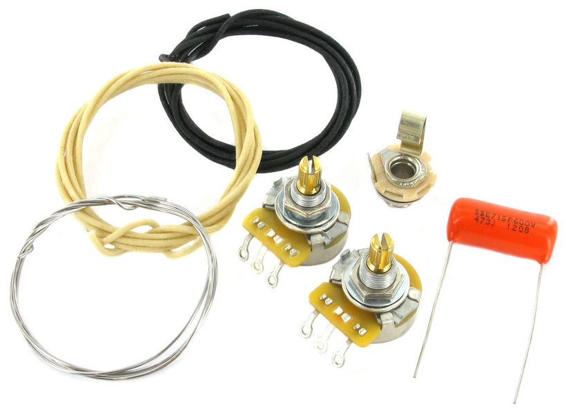 Guitarslinger Products   Montreux PB wiring kit   purchase ... on