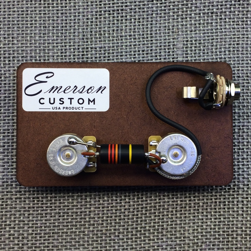 guitarslinger products emerson custom prewired kit lp junior emerson custom prewired kit lp junior fits to les paul acircreg